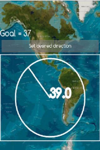 玩旅遊App|直著走 - 指南針免費|APP試玩