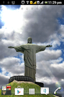 Screenshot of 3D Christ the Redeemer LWP