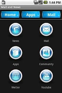 Mail and News - screenshot thumbnail
