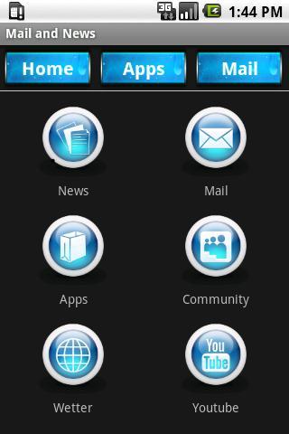 Mail and News - screenshot