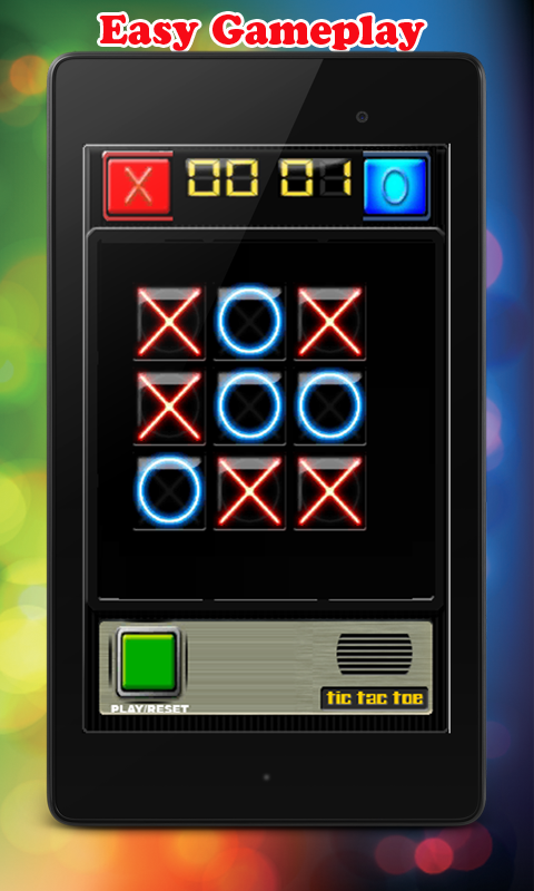 Tic Tac Toe Robot- screenshot