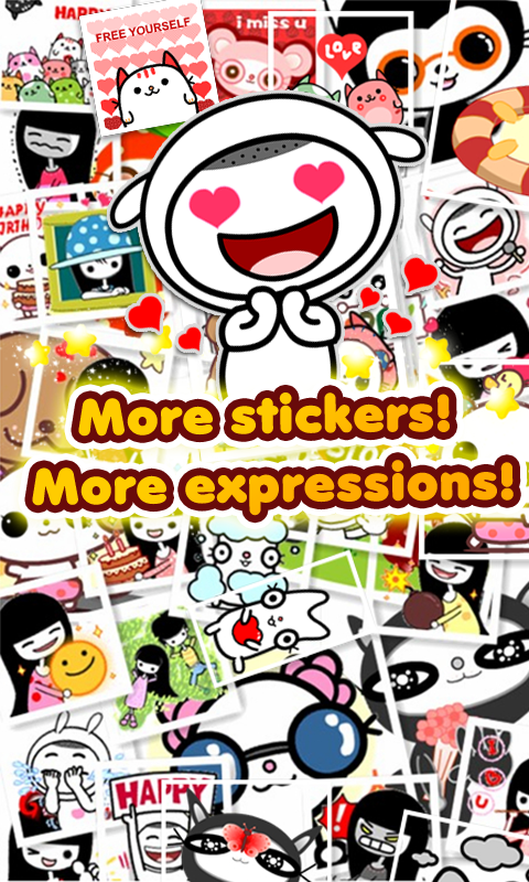 My Chat Sticker 2 - screenshot