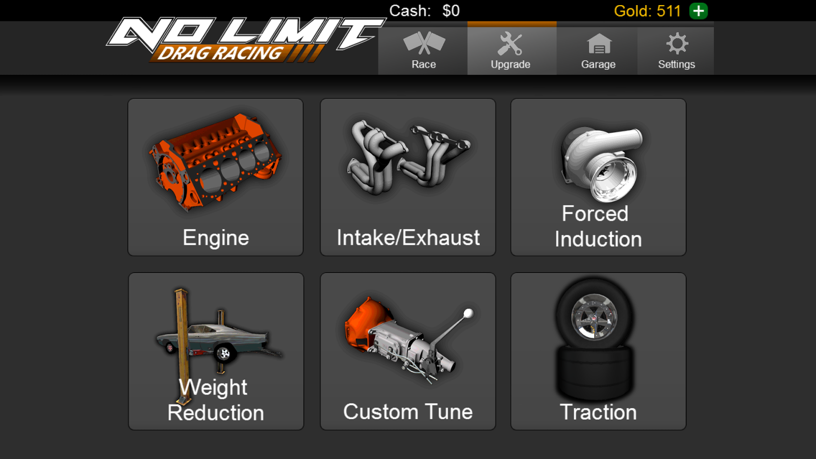 No Limit Drag Racing - Free Download