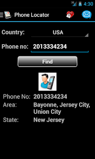 Mobile Number Locator - screenshot thumbnail