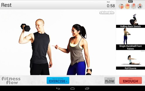Fitness Flow - screenshot thumbnail