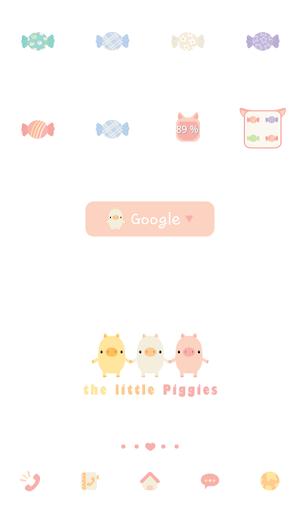 the little piggies 도돌런처 테마
