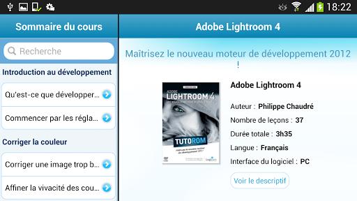Tuto Adobe Lightroom 4