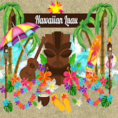 Hawaiian Luau GO LOCKER THEME