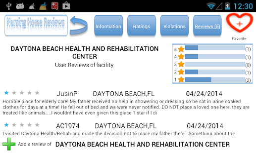 Nursing Home Reviews- screenshot thumbnail