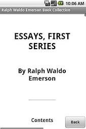 Ralph Waldo Emerson Collection