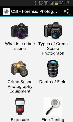 CSI - Forensic Photography