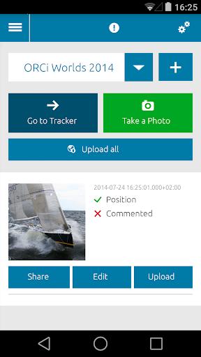 SAILBOOK Tracker