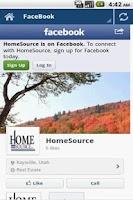 Screenshot of Home Source Utah