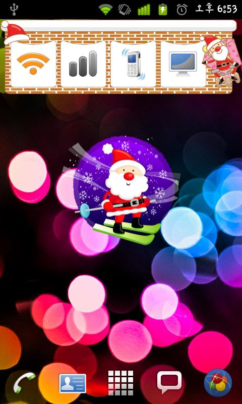 Christmas Sticker Widget Seven- screenshot
