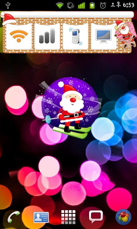 Christmas Sticker Widget Seven - screenshot