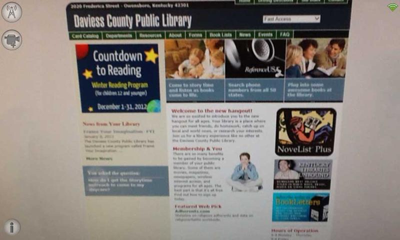 DCPL FYI - screenshot