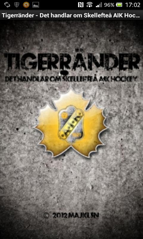 Tigerränder- screenshot