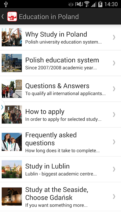 Study in Poland- screenshot