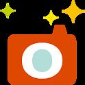 SnapPop Designed by mameya. logo