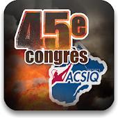 Congrès 2013 de l'ACSIQ