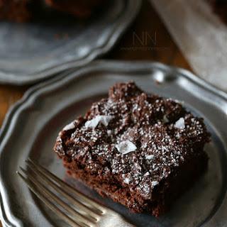 Dark Chocolate Yogurt Brownies
