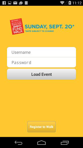 Jimmy Fund Walk Mobile App