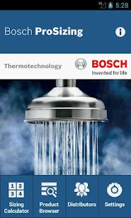 Bosch ProSizing- screenshot thumbnail