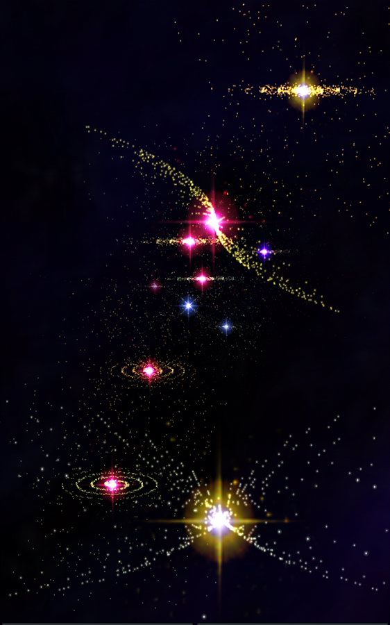 3D Stars Journey -Universe LWP - screenshot