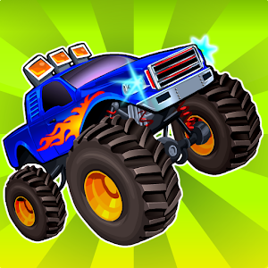 Monster Wheels v1.1 (Unlimited Money) apk free download