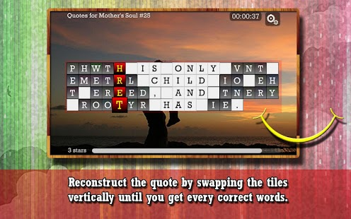WORD PUZZLE for MOTHER'S SOUL- screenshot thumbnail