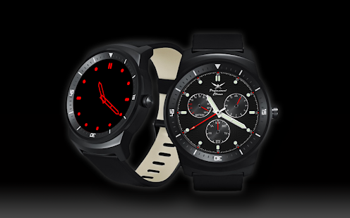 A44 WatchFace for Android Wear - náhled