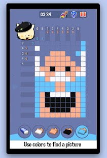Hungry Cat Picross - screenshot thumbnail