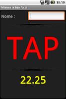 Screenshot of Measure your strength