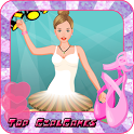 Ballet dancer girls dressup icon