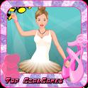 Ballet dancer girls dressup icon