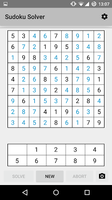 Sudoku Solver + Camera - screenshot