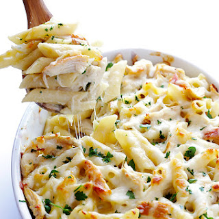 Baked Chicken With Alfredo Sauce Recipes.