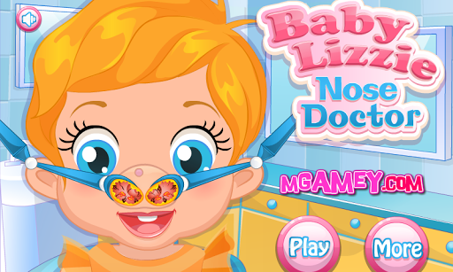 Baby Lizzie Nose Doctor