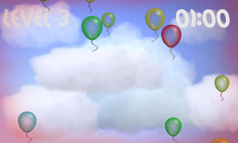 Crazy balloons - screenshot