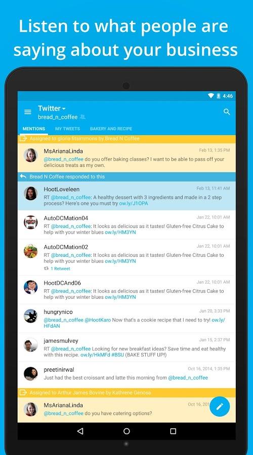 Hootsuite for Twitter & Social - screenshot