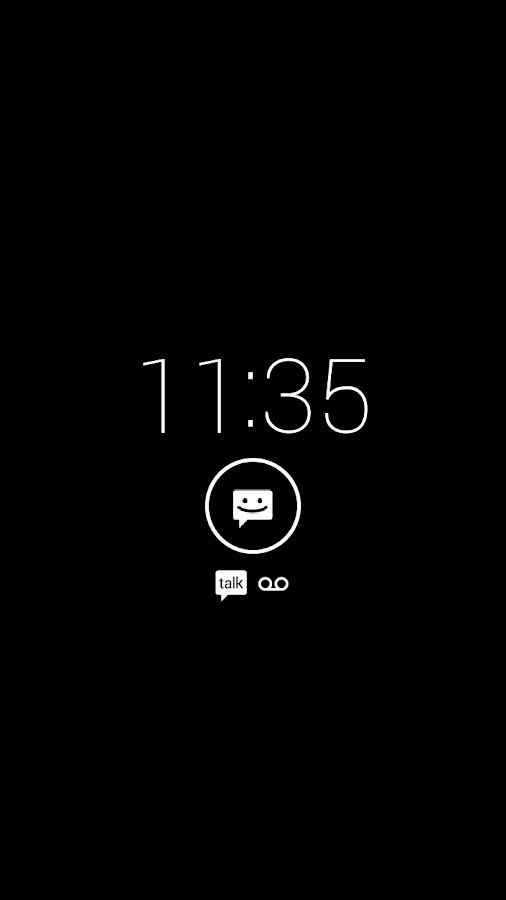 Motorola Active Display- screenshot