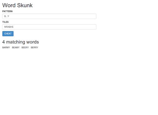 Word Skunk