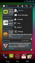 Falcon Widget (for Twitter) Screenshot 1