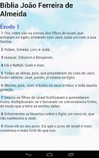 Bíblia João Ferreira d Almeida - screenshot thumbnail