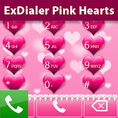 ExDialer Pink Hearts