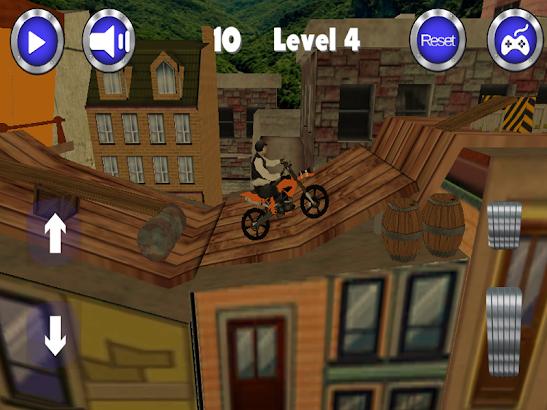 Dirt bike 3d games- screenshot thumbnail