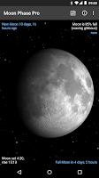 Screenshot of Moon Phase Pro