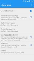 Screenshot of Commandr for Google Now