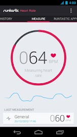 Runtastic Heart Rate Screenshot 1