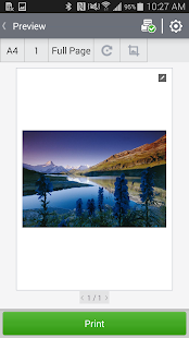Samsung Mobile Print - screenshot thumbnail